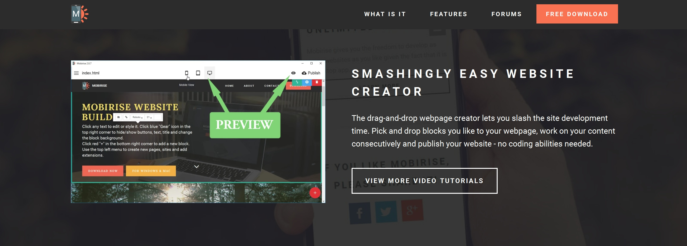 Drag and Drop Web Page  Creator Review