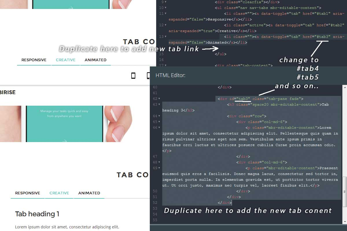 Simple Bootstrap One Page Theme Tutorial
