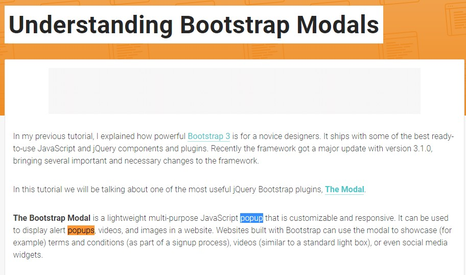 Another  valuable  content  concerning Bootstrap Modal Popup