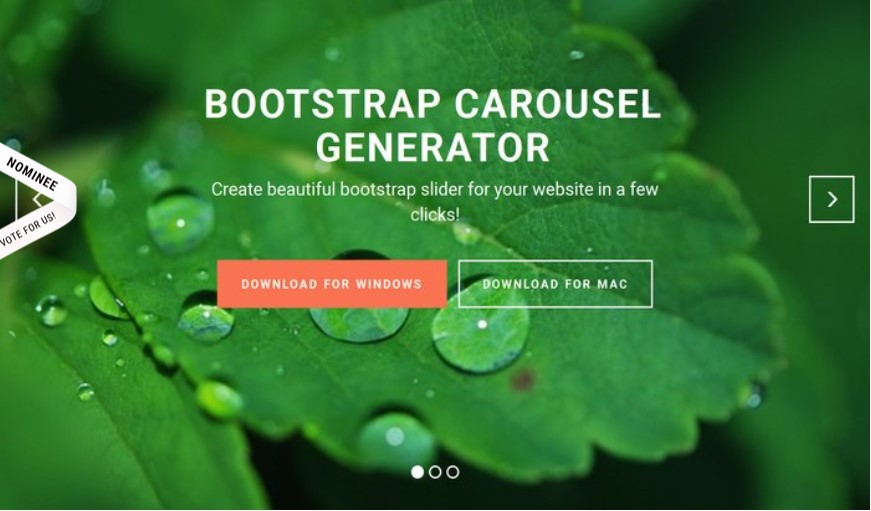 Bootstrap Carousel Example