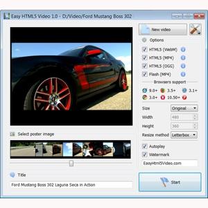 HTML5 Video Converter | Convert Video to HTML5